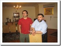 �سین درخشان در منزل م�مد علی ابط�ی - تهران . عکس تزئینی است